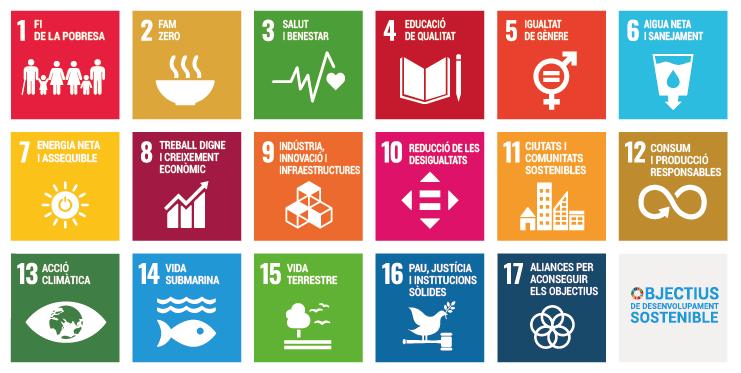 Idescat. Objectius de desenvolupament sostenible (ODS)
